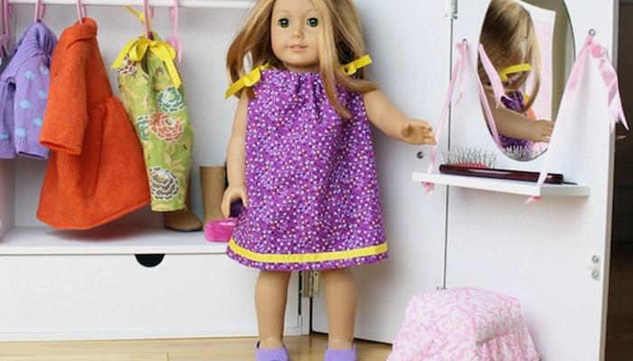 Детский кукольный гардероб