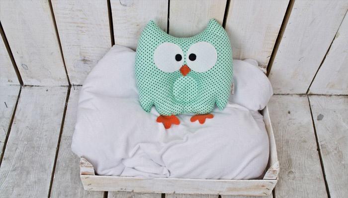Подушка сова