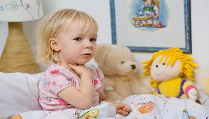 У ребенка болят лимфоузлы на шее