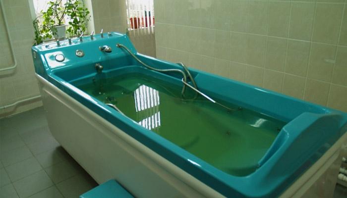 Ванна для лечения псориаза