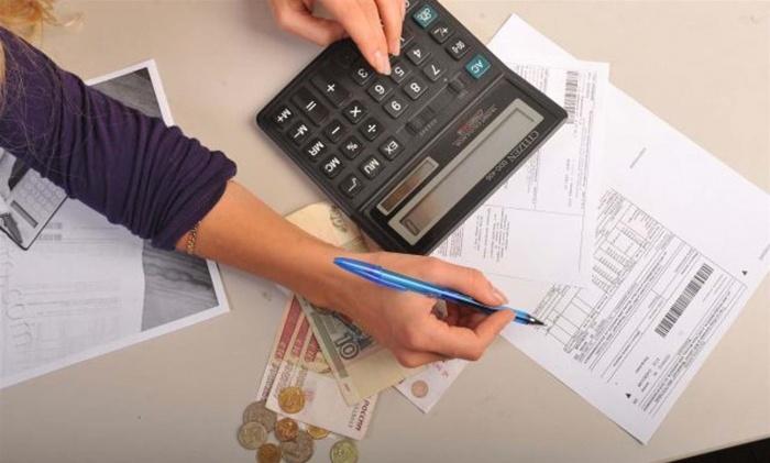 Расчет денег на калькуляторе