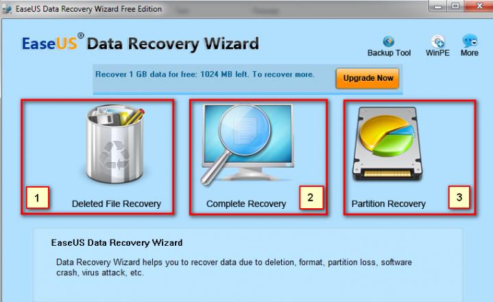 Программу восстановления данных диска