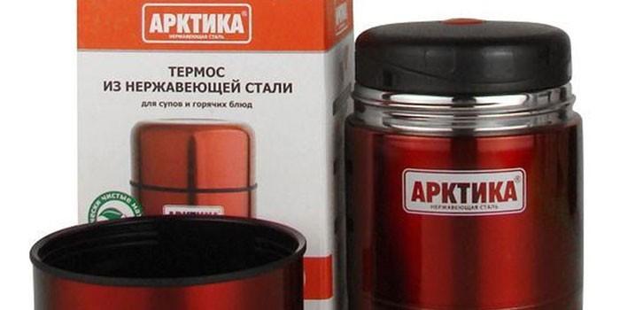 Термос для супа Арктика 302-500