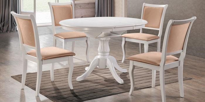 Стол-трансформер журнально-обеденный овальный Capri от Avanti