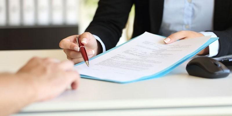 Процесс подписания документов