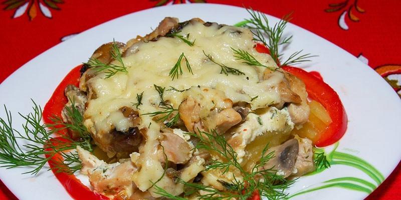Запеканка из кабачков и курицы в духовке - как вкусно готовить с грудкой, филе или фаршем