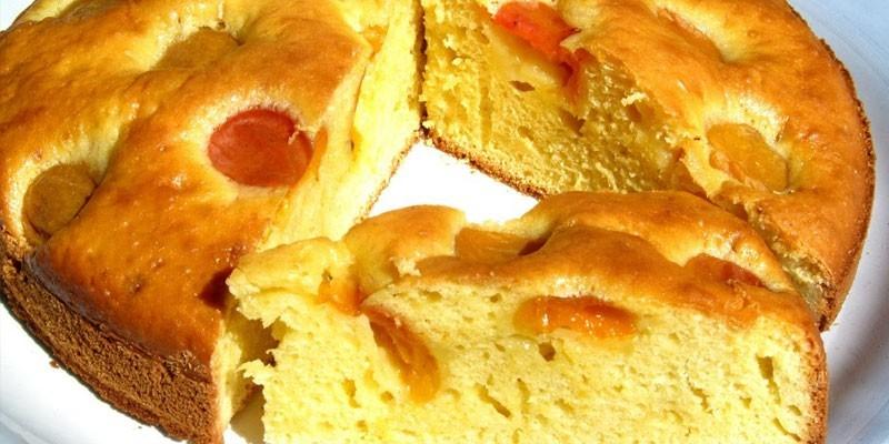 Абрикосовый пирог от Юлии Высоцкой