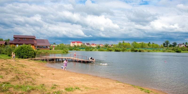 Река Варварка в с.п. Синьковском Дмитровского района