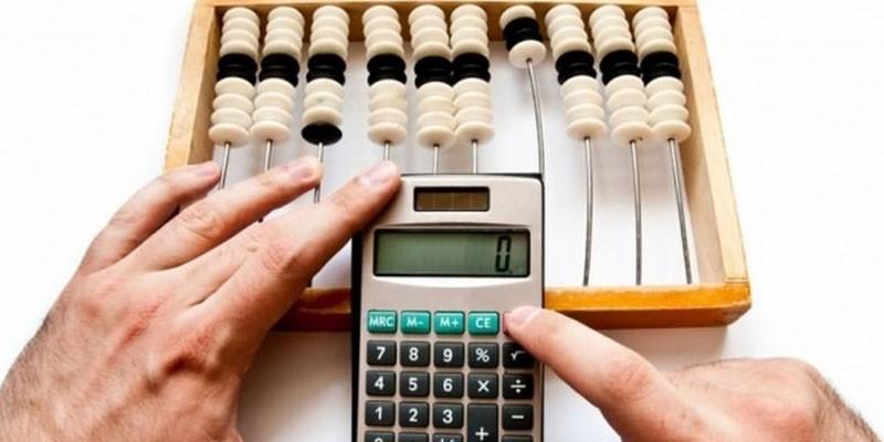 Счеты и калькулятор
