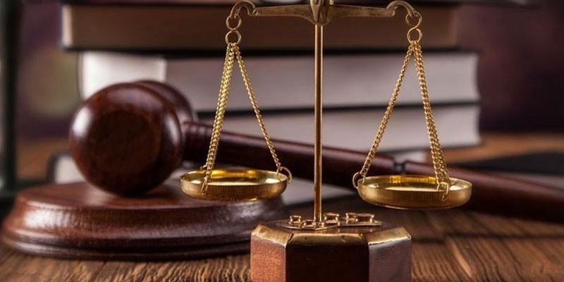 Весы, книги и судейский молоток