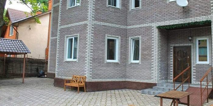 Двор пансионата в Лианозово
