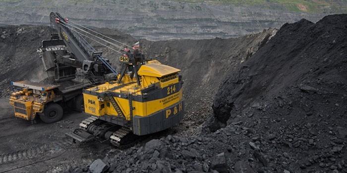 Работы по добыче угля