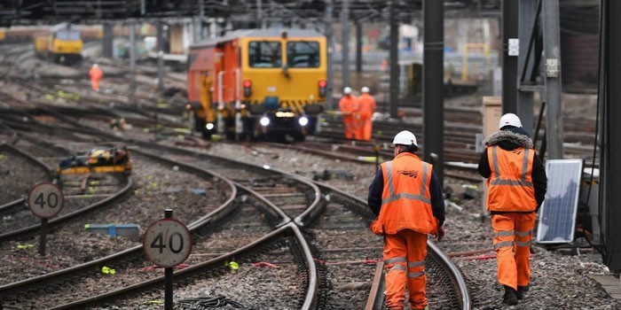 Работники железной дороги