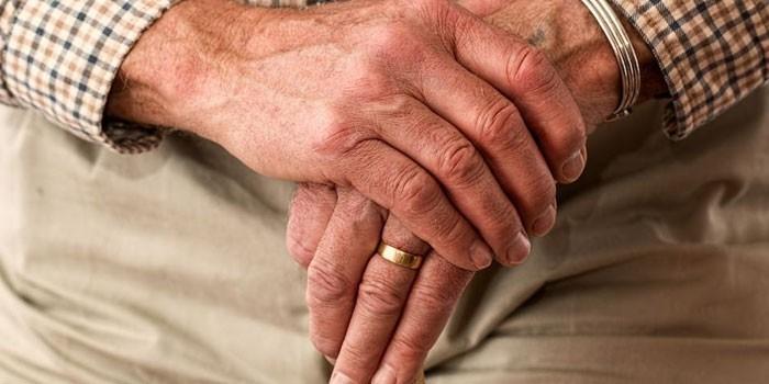 Руки пенсионера