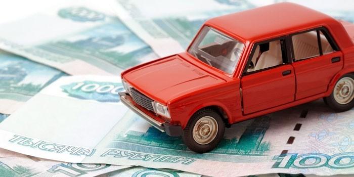 Деньги и машинка