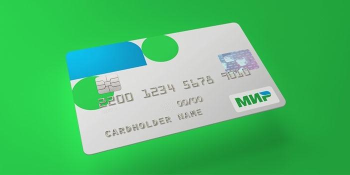 Платежная карточка МИР