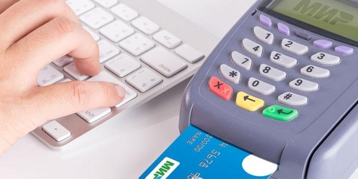 Платежный терминал для банковских карт