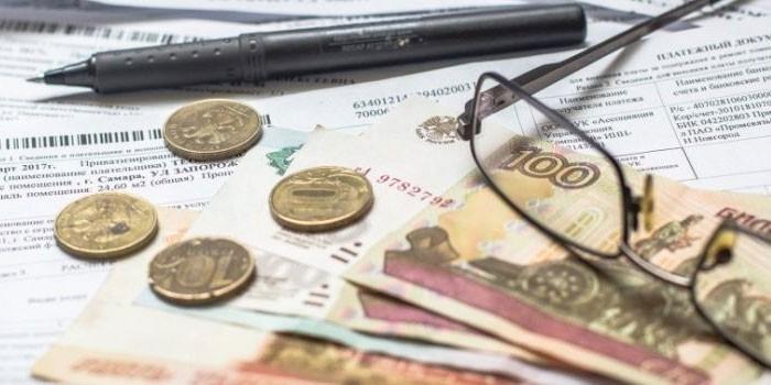 Деньги, счета и очки