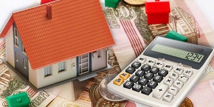Домик, деньги и калькулятор