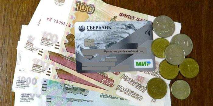 Деньги и карта МИР