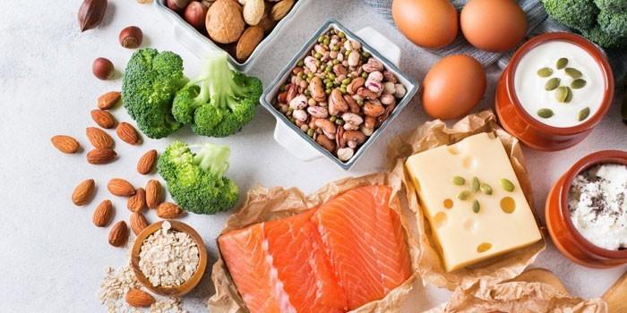Богатые пептидами продукты питания