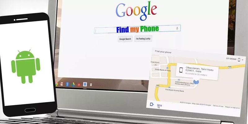 Мобильный телефон и ноутбук