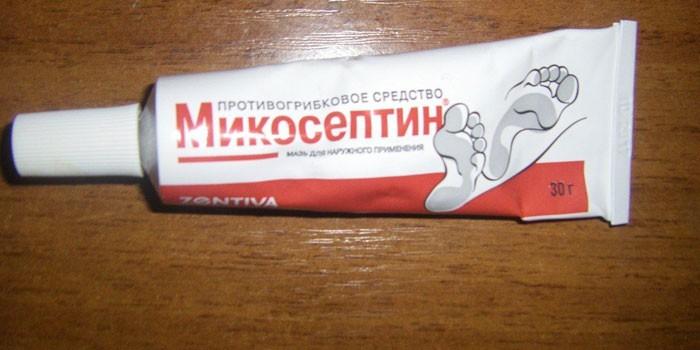 Мазь Микосептин в тубе