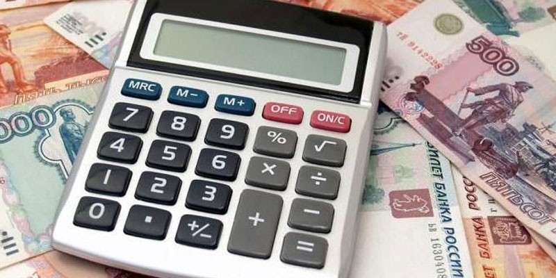 Калькулятор на денежных купюрах