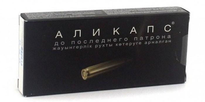 Препарат Аликапс в упаковке