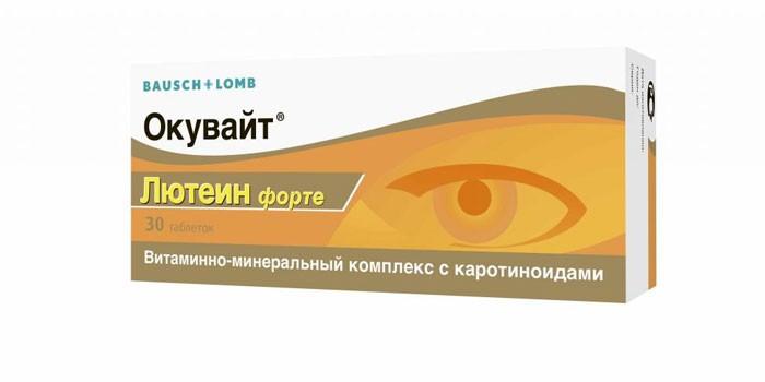 Витаминно-минеральный комплекс Окувайт Лютеин Форте