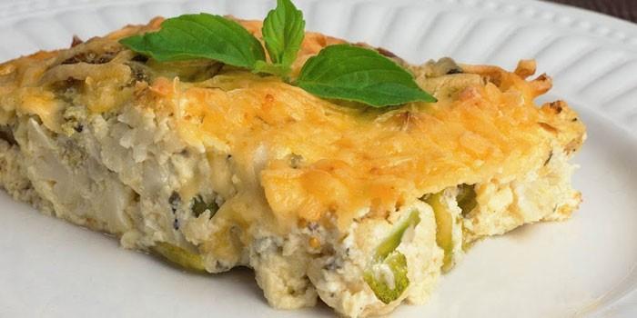 С капустой и сыром