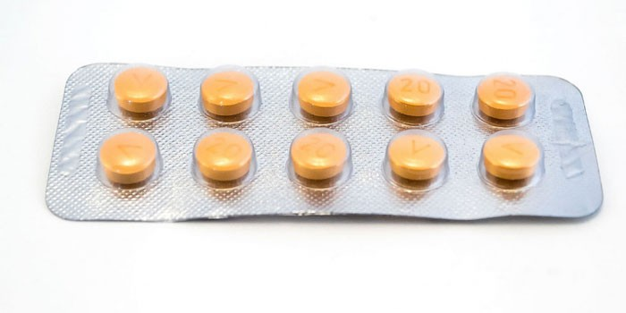 Таблетки Левитра в блистерной упаковке