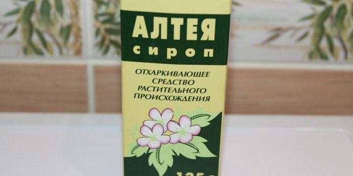 Сироп Алтея от кашля детям: инструкция по применению