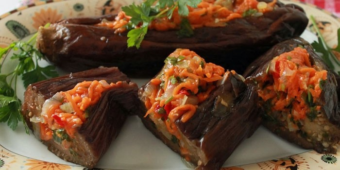 баклажаны на зиму рецепты фаршированных баклажанов еще безумно горячие