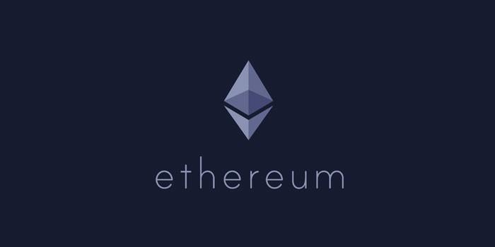 Логотип криптовалюты Ethereum
