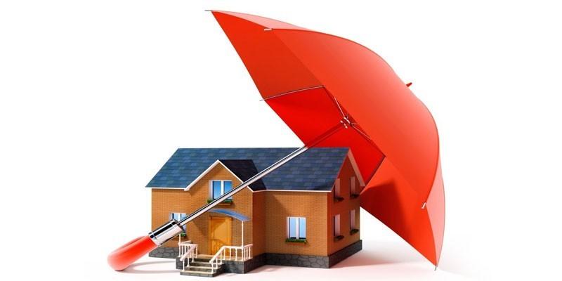 Домик под зонтом