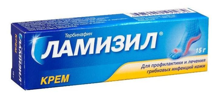 Крем Ламизил в упаковке