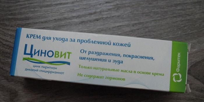 Крем Циновит в упаковке