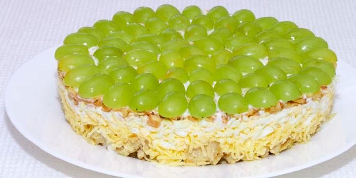 Тиффани с белым виноградом