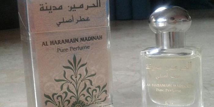 Духи с малом мандарина Madinah Al Haramain