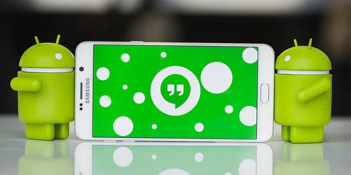 Программа Hangouts на Андроиде