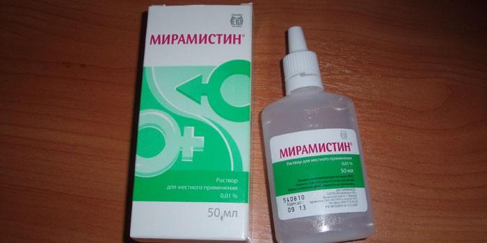 Препарат Мирамистин в упаковке