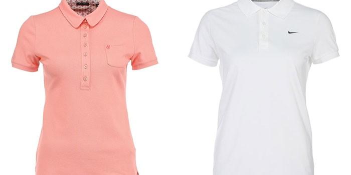 Женские футболки-поло