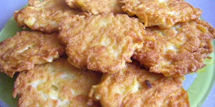 Котлеты из тертой сырой картошки
