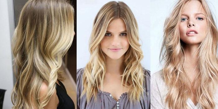 Блондинки с длинными волосами