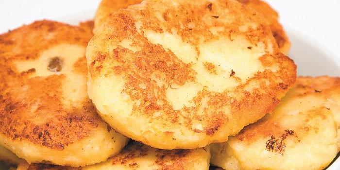 Жареные котлеты из картофельного пюре