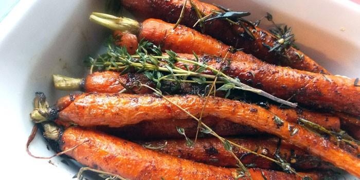 Запеченная морковь - пошаговые рецепты приготовления в домашних условиях с фото