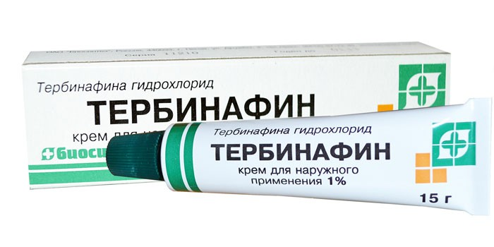 Крем Тербинафин в упаковке
