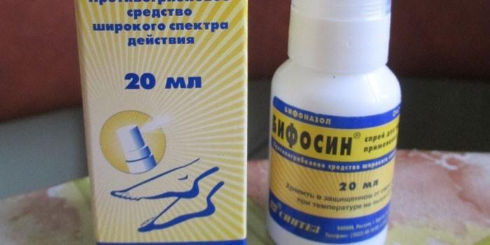 Спрей Бифосин в упаковке
