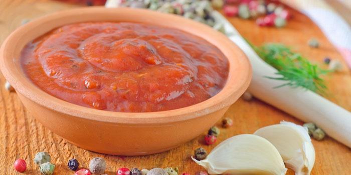аджика свежая без варки рецепт с фото
